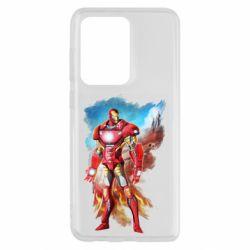 Чохол для Samsung S20 Ultra Avengers iron man drawing