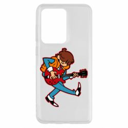 Чехол для Samsung S20 Ultra Back to the Future Marty McFly