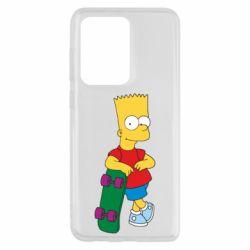 Чохол для Samsung S20 Ultra Bart Simpson