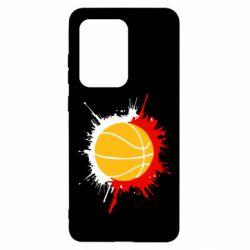 Чохол для Samsung S20 Ultra Баскетбольний м'яч
