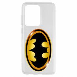 Чохол для Samsung S20 Ultra Batman logo Gold