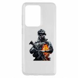 Чехол для Samsung S20 Ultra Battlefield Warrior