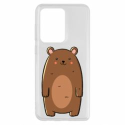 Чехол для Samsung S20 Ultra Bear with a smile