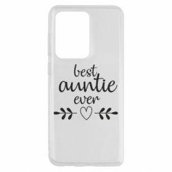 Чохол для Samsung S20 Ultra Best auntie ever