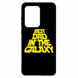 Чехол для Samsung S20 Ultra Best dad in the galaxy
