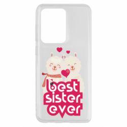 Чохол для Samsung S20 Ultra Best sister ever