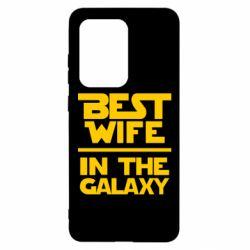 Чехол для Samsung S20 Ultra Best wife in the Galaxy