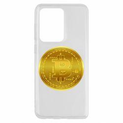 Чохол для Samsung S20 Ultra Bitcoin coin