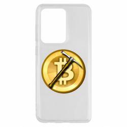Чохол для Samsung S20 Ultra Bitcoin Hammer