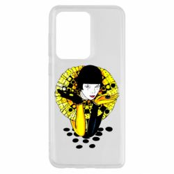 Чехол для Samsung S20 Ultra Black and yellow clown