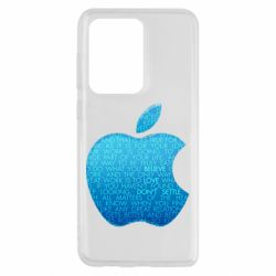 Чехол для Samsung S20 Ultra Blue Apple