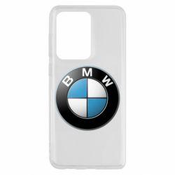 Чехол для Samsung S20 Ultra BMW Logo 3D
