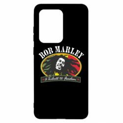 Чехол для Samsung S20 Ultra Bob Marley A Tribute To Freedom
