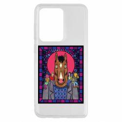 Чехол для Samsung S20 Ultra Bojack Horseman icon