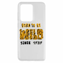 Чохол для Samsung S20 Ultra Born to be wild sinse 1989
