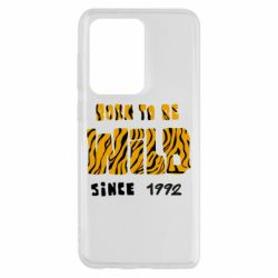 Чохол для Samsung S20 Ultra Born to be wild sinse 1992