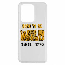 Чехол для Samsung S20 Ultra Born to be wild sinse 1995