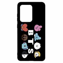 Чохол для Samsung S20 Ultra Bts emoji