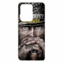 Чехол для Samsung S20 Ultra Call of Duty WWII