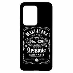 Чохол для Samsung S20 Ultra Cannabis label