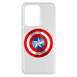 Чехол для Samsung S20 Ultra Captain America 3D Shield