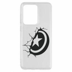 Чохол для Samsung S20 Ultra Captain America shield