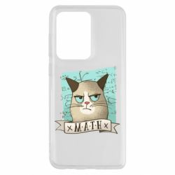 Чехол для Samsung S20 Ultra Cat and Math