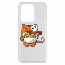 Чохол для Samsung S20 Ultra Cat and Ramen