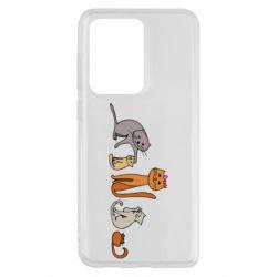 Чехол для Samsung S20 Ultra Cat family