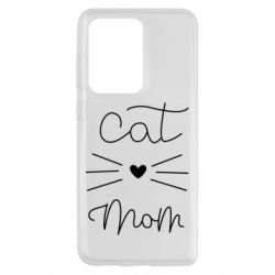 Чохол для Samsung S20 Ultra Cat mom