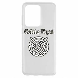 Чохол для Samsung S20 Ultra Celtic knot black and white