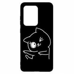 Чехол для Samsung S20 Ultra Cheerful kitten