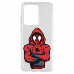 Чохол для Samsung S20 Ultra Людина павук в толстовці