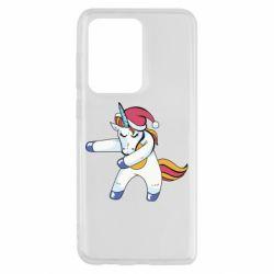 Чохол для Samsung S20 Ultra Christmas Unicorn