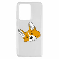 Чохол для Samsung S20 Ultra Corgi is dozing