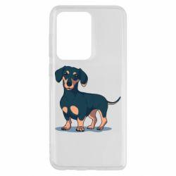 Чохол для Samsung S20 Ultra Cute dachshund