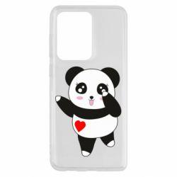 Чохол для Samsung S20 Ultra Cute little panda