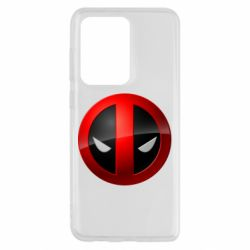 Чехол для Samsung S20 Ultra Deadpool Logo