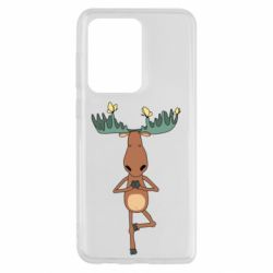 Чохол для Samsung S20 Ultra Deer and Yoga