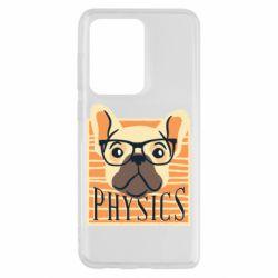 Чехол для Samsung S20 Ultra Dog Physicist