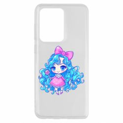 Чохол для Samsung S20 Ultra Doll with blue hair