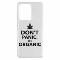 Чохол для Samsung S20 Ultra Dont panic its organic