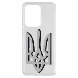 Чехол для Samsung S20 Ultra Двокольоровий герб України