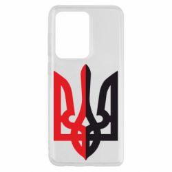 Чохол для Samsung S20 Ultra Двокольоровий герб України