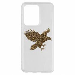 Чехол для Samsung S20 Ultra Eagle feather