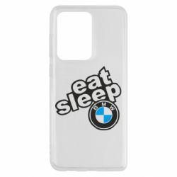 Чохол для Samsung S20 Ultra Eat, sleep, BMW