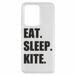 Чохол для Samsung S20 Ultra Eat, sleep, kite