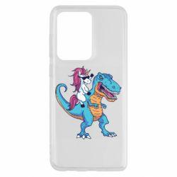 Чохол для Samsung S20 Ultra Єдиноріг і динозавр