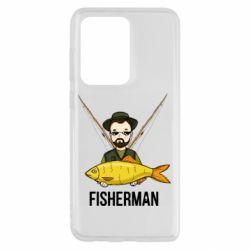 Чохол для Samsung S20 Ultra Fisherman and fish