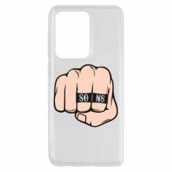 Чехол для Samsung S20 Ultra Fist with rings SONS
